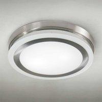 Round ceiling light RING 9115 51 cm chrome