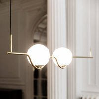 Le Vita designer pendant light, LED 2-bulb