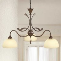 Multi bulb hanging light Lorenzo  3 bulb