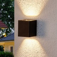 Lukas   LED outdoor wall lamp with deco filters
