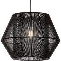 Zara hanging light in black