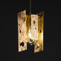 Knikerboker Buchi wall lamp 11x11x23cm gold leaf