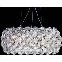 Prisma hanging light in an oval shape