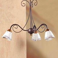 Classic CARTOCCIO hanging light  3 bulb