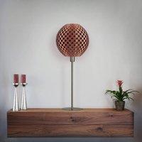 Flechtwerk Kugel table lamp  copper