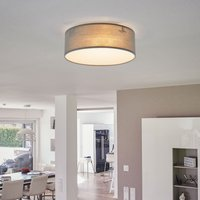 Grey fabric ceiling light Ceiling Dream 20 cm
