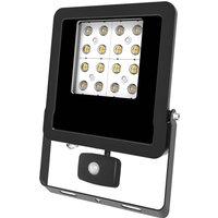 EVN Panthera outdoor spotlight sensor IP44 30 W