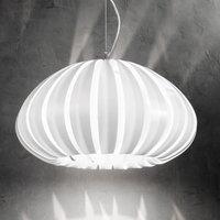 White Luis acrylic hanging light