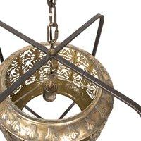 691 hanging light  Oriental flair