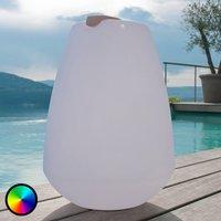 Portable LED decorative light Vessel