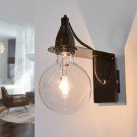 Black Minimal designer wall lamp