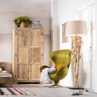 KARE Scultra   natural looking floor lamp