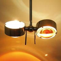 Adjustable hanging light Puk Ceiling  chrome