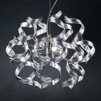 Pretty hanging light Silver 40 cm diameter