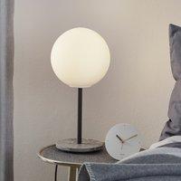 Menu TR Bulb table lamp 41 cm marble matt opal