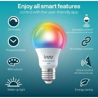 Inn LED bulb WiFi E27 9 5 W 806 lm RGBW 2 pack