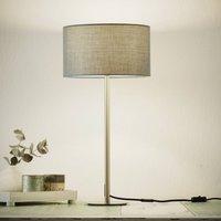 Sch ner Wohnen Pina table lamp  dark grey