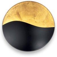 Sunrise wall light G9  black   gold    35 cm