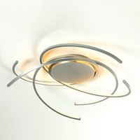 Peppy LED ceiling light Space  aluminium