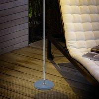 B Leuchten Joy LED floor lamp  battery  anthracite