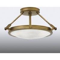 Small semi flush ceiling light Collier
