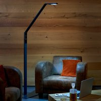 Luctra Floor Linear LED floor lamp black