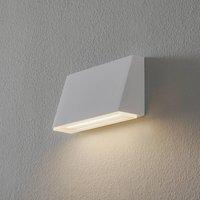 BEGA 50071 wall lamp trapezium 3 000K 18cm white