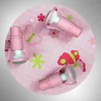 Adjustable Papillon children s room ceiling light