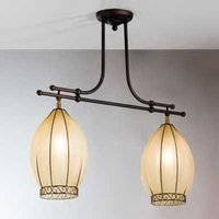 2 bulb TULIPANO hanging light
