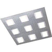 GROSSMANN Basic ceiling lamp 9 bulb aluminium