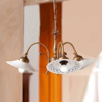 3 bulb ORLO hanging light  rustical style