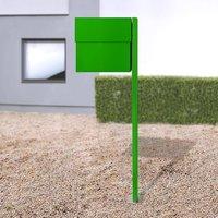 Letterman XXLII letterbox  post  green