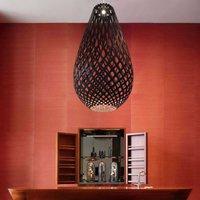 david trubridge Koura pendant lamp  75 cm  black