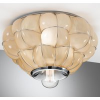 Pouff   handmade ceiling light from Italy