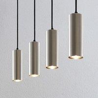 Lindby Joffrey hanging light  four bulb  nickel