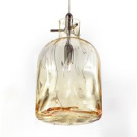 Designer pendant lamp Bossa Nova amber