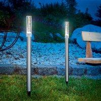 Solar design light sticks twin set