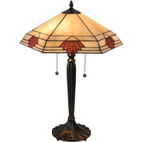 5202 table lamp in a Tiffany style  44 x 38 cm