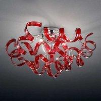 Pretty ceiling light Cherry 50 cm diameter
