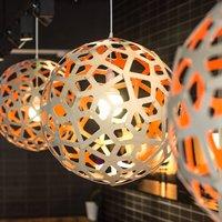 david trubridge Coral hanging lamp   40 cm natural