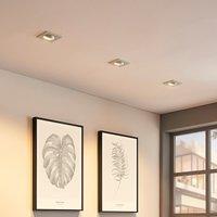 Angular recessed spotlight Enne  white finish