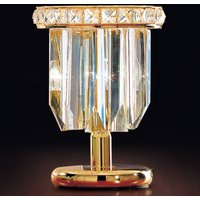 Cristalli table lamp 24 carat in gold
