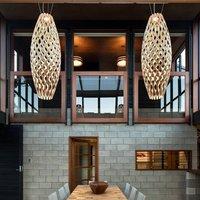 david trubridge Hinaki hanging lamp 50 cm natural