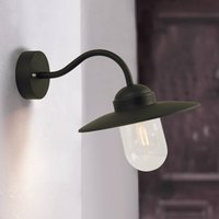 Outdoor wall lamp Luxembourg black   IP54