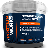 Image of The Protein Works Organic Roasted Cacao Nibs