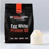 The Protein Works ES|Clara De Huevo En Polvo 80