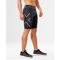 2XU - Accelerate Compression Shorts Black/Silver M