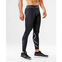 2XU - Accelerate Compression Tights Black/Silver Medium