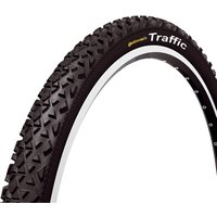 Continental - Traffic II Rigid MTB Tyre Black/Black 26x1.9