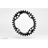 AbsoluteBlack - Oval Chainring 104 BCD Narrow Wide Black 32T